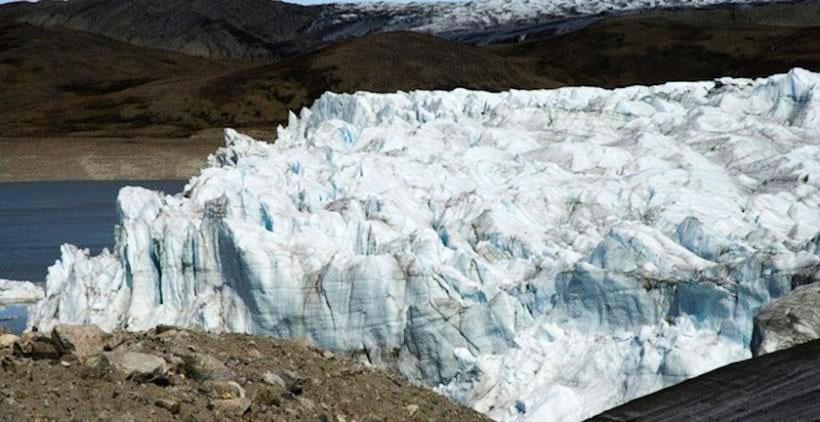Russell glacier terminus, Greenland